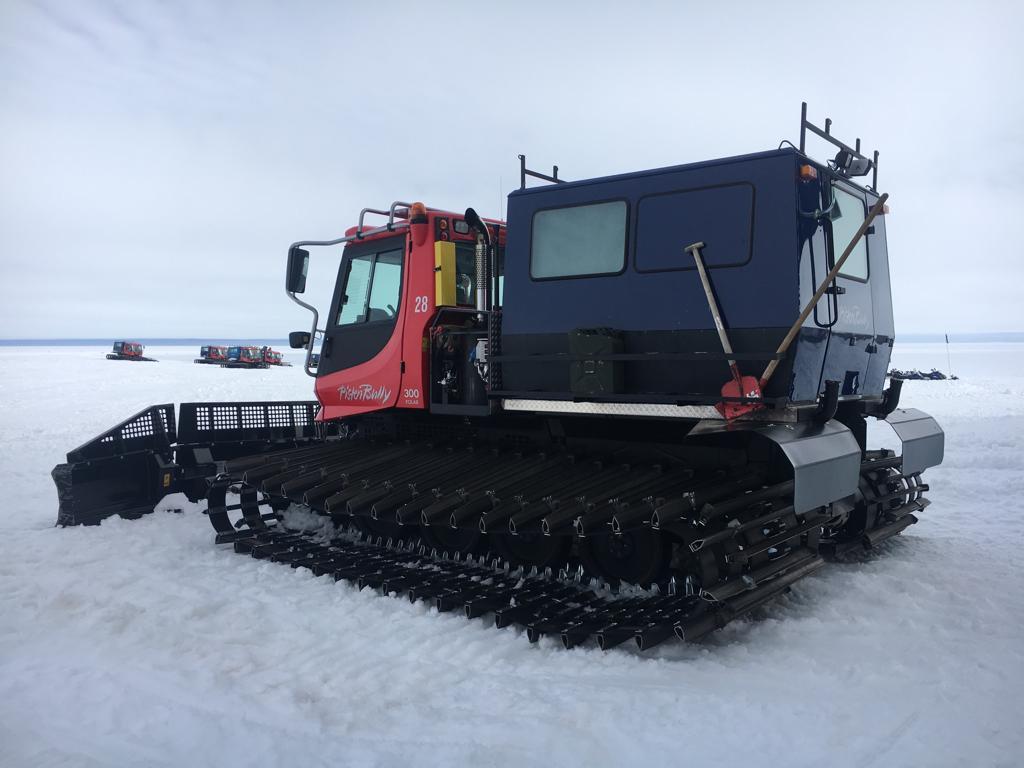 Etelämantereen terveiset Hannulta